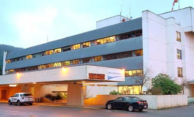 Prince Rupert podiatry clinic located in hospital